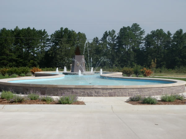 Ft. Leonard Wood Fountain