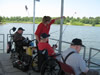 Cameron Veterans Home veterans fishing