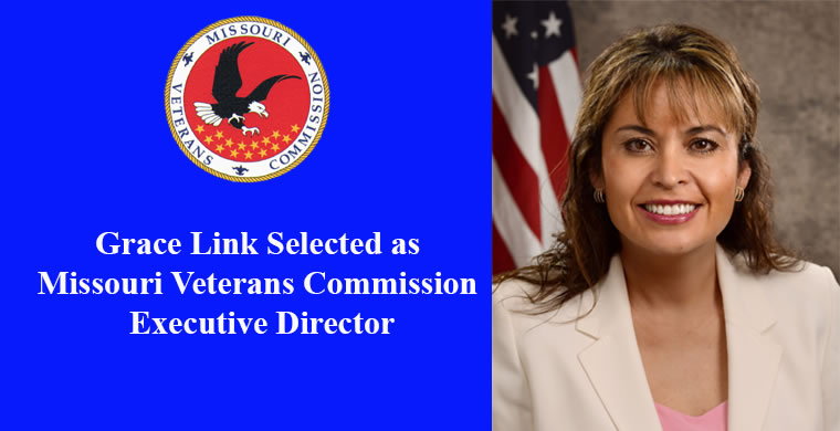 Grace Link selected as Missouri Veterans Commission Executive  Director
