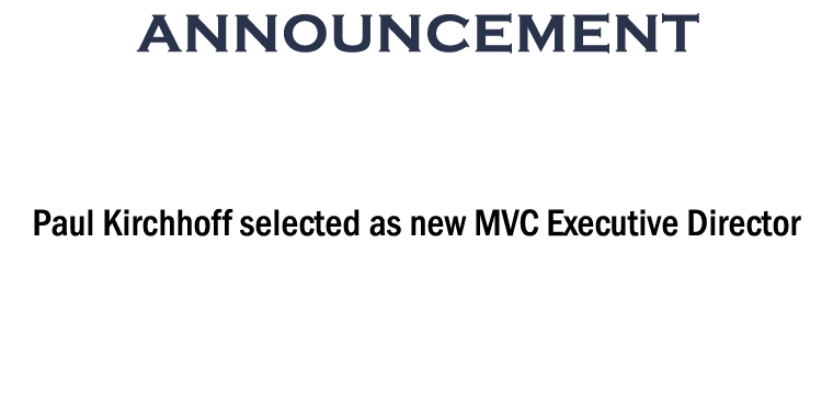 MVC selects new Executive Director