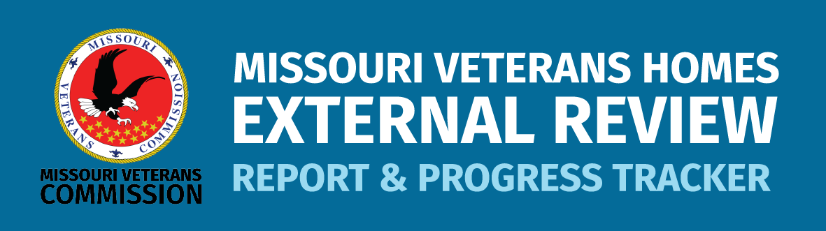 Missouri Veterans Homes external review updates